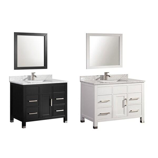 MTD Vanities Ricca 36-inch Single Sink Bathroom Vanity Set ...
