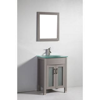 Marble 31 5 Inch Bathroom Vanity With Matching Mirror