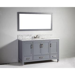 60 Inch Single Vanity 18582483 Overstock Com Shopping