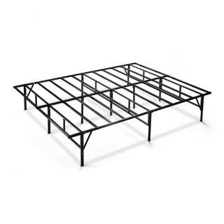 Black Steel Mattress Bed Frame Twin Extra Long 11341165