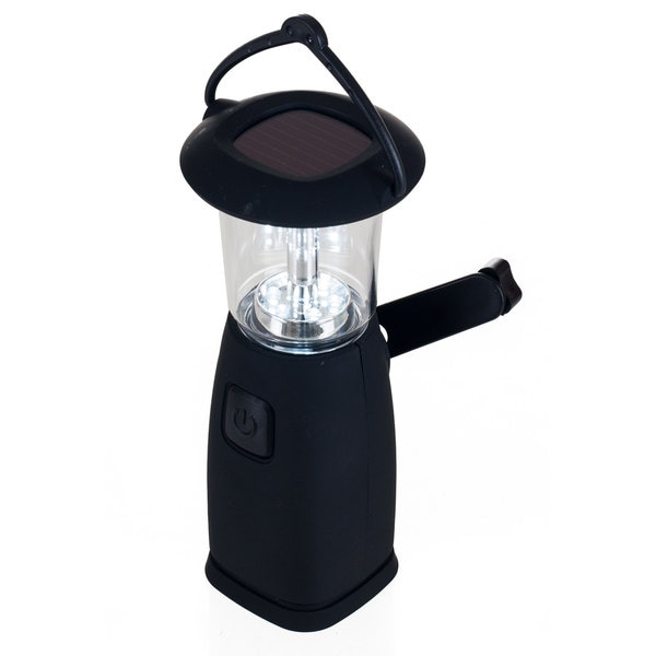 36 Led Solar And Dynamo Powered Camping Lantern By