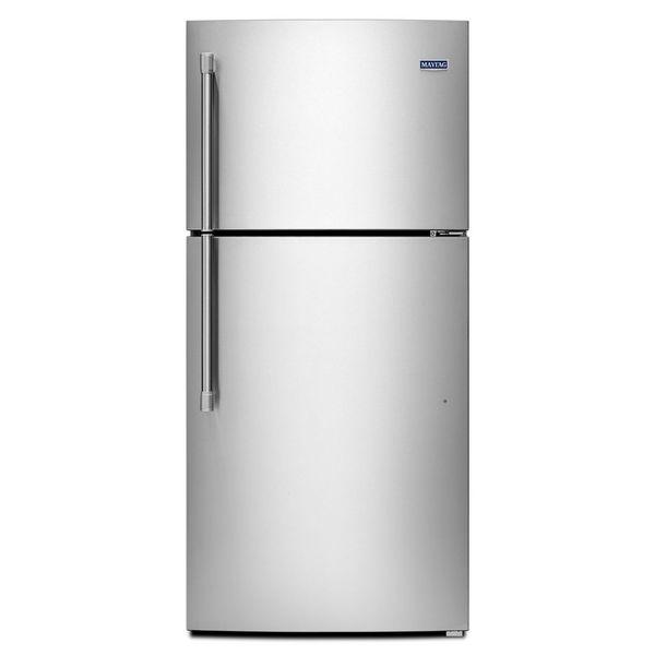 maytag heritage series 19 1 cubic foot top freezer refrigerator mrt519szdm 17521518. Black Bedroom Furniture Sets. Home Design Ideas
