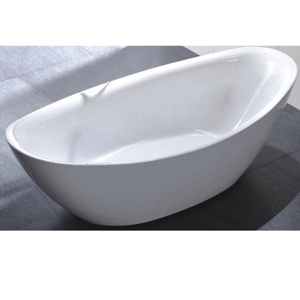 Mtd Vanities Newport 67 Inch Acrylic Free Standing Tub