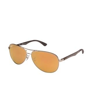 8bc5d4ca22492 ebay ray ban shiny havana tortoise plastic cats 5000 aviator sunglasses  96a91 b9648