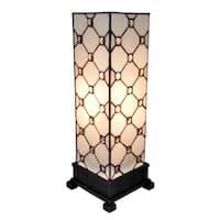 Amora Lighting Tiffany-style Jewel Table Lamp