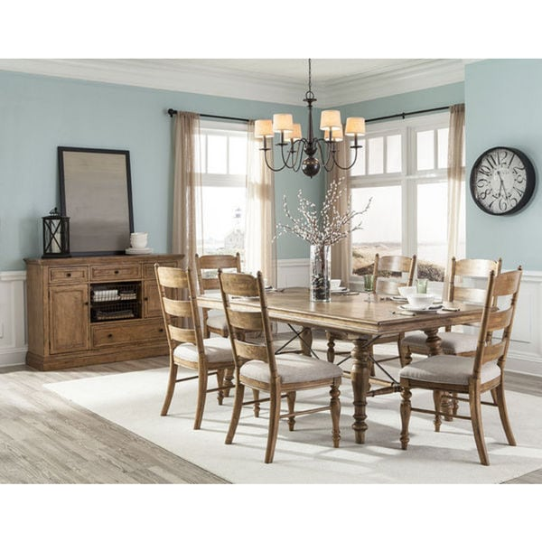 Discount Dining Room Sets Free Shipping: Lake House 7-piece Nautical Dining Set
