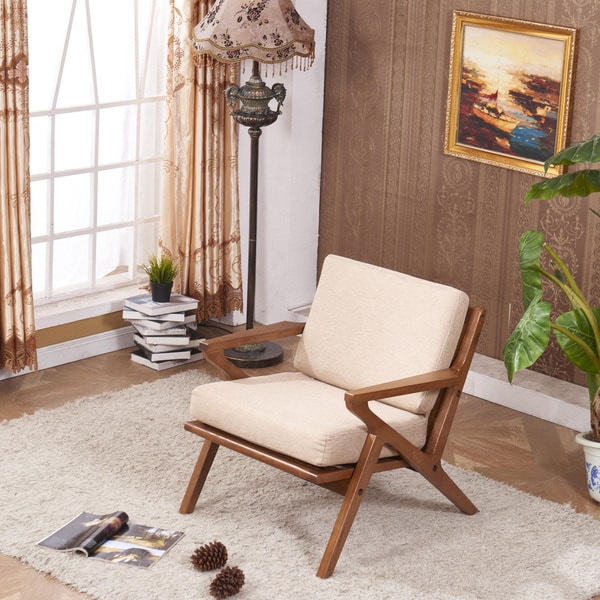 Classic Signature Designs Solid Wood Accent Chair Club Arm
