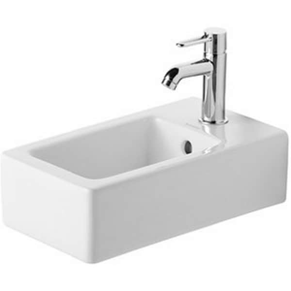 Duravit White Alpin Vero Above Counter Vessel Porcelain 17