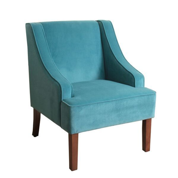 Turquoise Living Room Chair Zion Star
