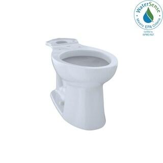 Toto Drake Cotton White Elongated Toilet Bowl And Tank