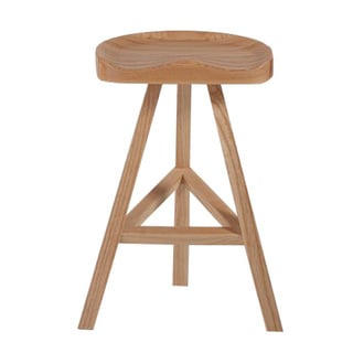 Hemi Wood Contoured Counter Stool 17581054 Overstock