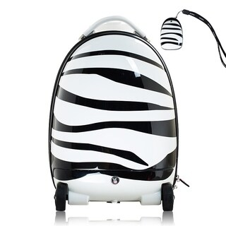 "Best Ride On Cars Remote Control Zebra Suitcase - 19""h x 12""w x 10""d"