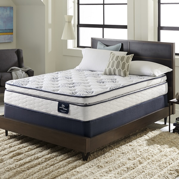 Serta Perfect Sleeper Ventilation Pillowtop King Size Mattress Set 17600986 Overstock Com