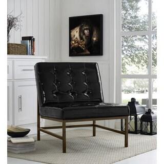 Stratham White Mid Century Modern Club Chair 14518249