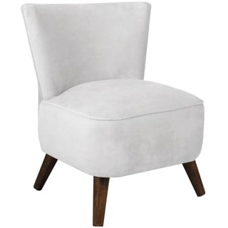Singleton Weathered Grey Ivory Upholstered Chair