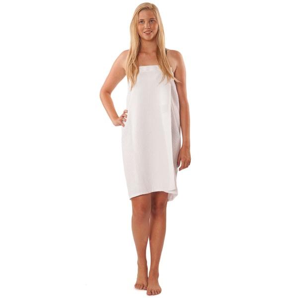 Waffle Spa Wrap Bath Towel Wrap 17604956 Overstock Com