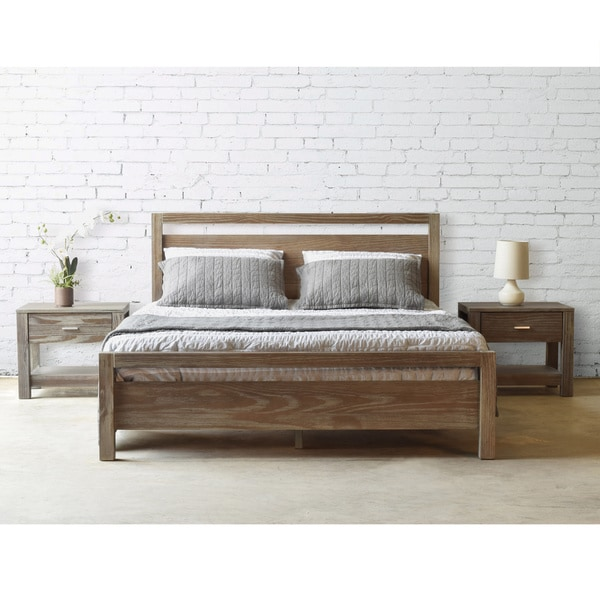 Furniture Stunning Display Of Wood Grain In A: Grain Wood Furniture Loft Solid Wood Queen-size Panel