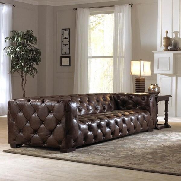 Lazzaro Leather Nautical Ii Sofa And Half 17615998