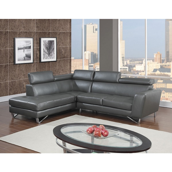Minnesota Leather Air Modern Sectional Left Or Right