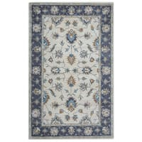 Arden Loft Crown Way Natural/ Charcoal Grey Oriental Hand-tufted Wool Area Rug (2'6' x 8')