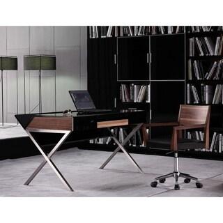 Jesper Office Height Adjustable Espresso Workpad Table