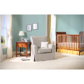 Delta Children Epic Upholstered Glider