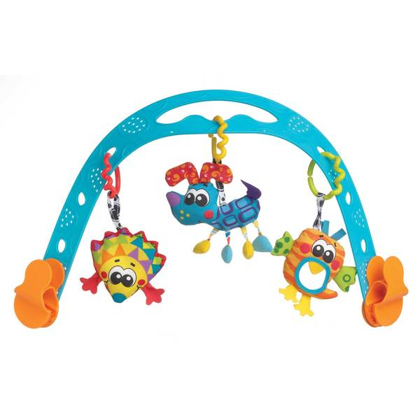 Playgro Jig Along Neutral Travel Play Arch 17629223