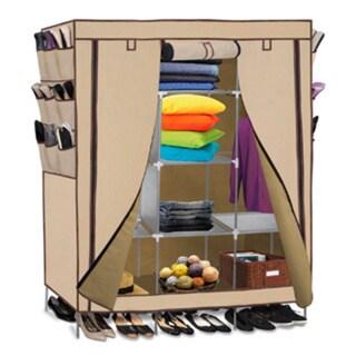 Portable Wardrobe Closet Storage Organizer 17642314