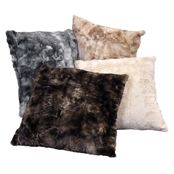 Brielle Faux Fur Decorative Pillow