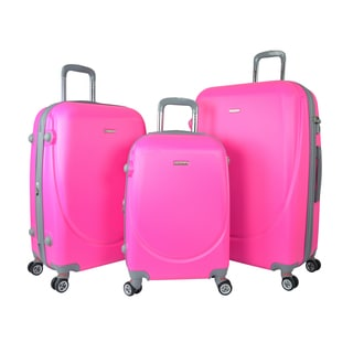6b3cfdfee review detail Traveler's Club Barnet 2.0 3-Piece Hardside Expandable  Double-Spinner Luggage Set