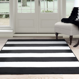 Black Stripe Rugs Amp Area Rugs Shop The Best Brands