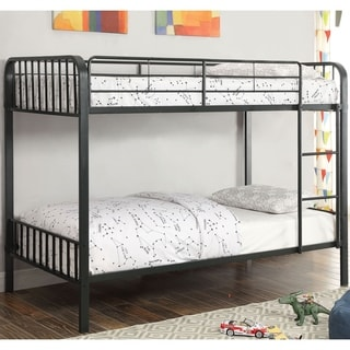 Altra Elements Resort Cherry Loft Bed With Two Bookcases