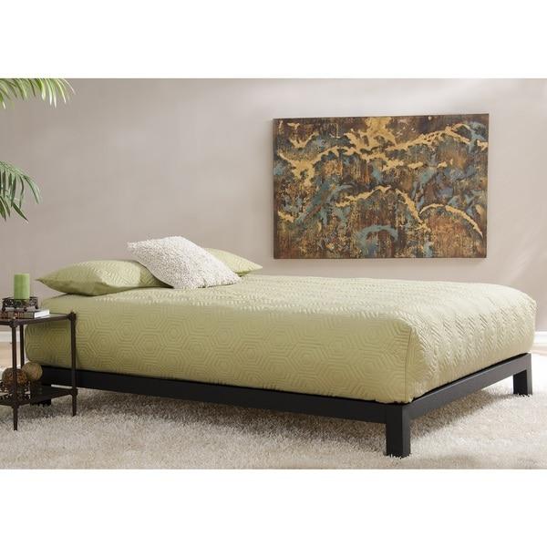 Motif Design Aura Deluxe Platform Bed Black