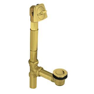 Decorative Polished Brass Plumbing Supply Kit Drain Shut