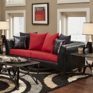 Laredo 2 Tone Sofa Black And Grey Reviews Deals