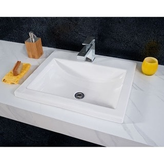 Drop In Bathroom Sinks Overstock Com Buy Sinks Online