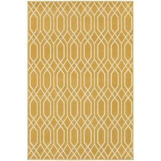 Indoor Outdoor Geometric Tile Rug 8 6 X 13 16146337