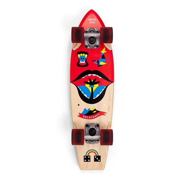 GoldCoast Watershed Cruiser Skateboard Complete