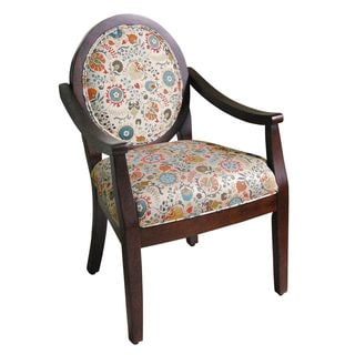 Oval Tip Midnight Arm Chair Overstock Shopping Great