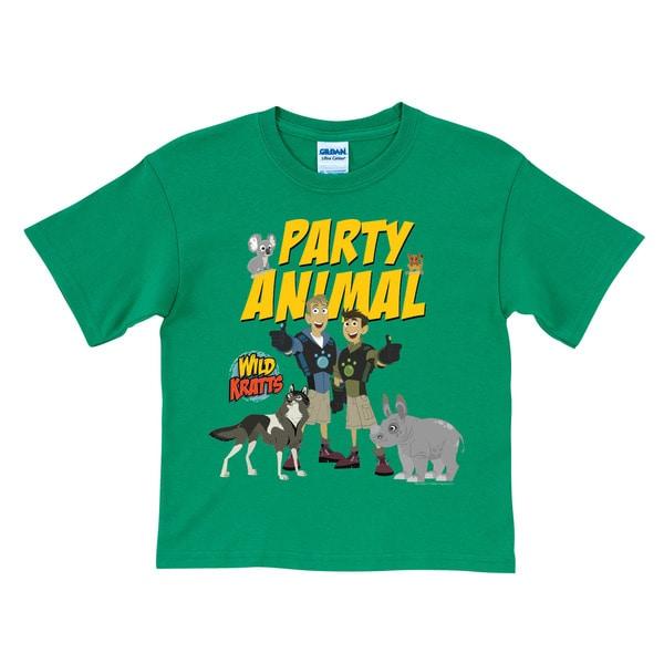 Wild Kratts Party Animal Green T Shirt 17669986