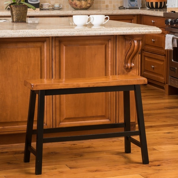 Christopher Knight Home Pomeroy Saddle Wood Counter Dining