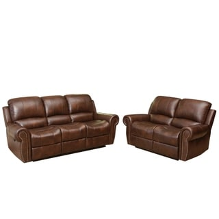 Top Grain Leather Reclining