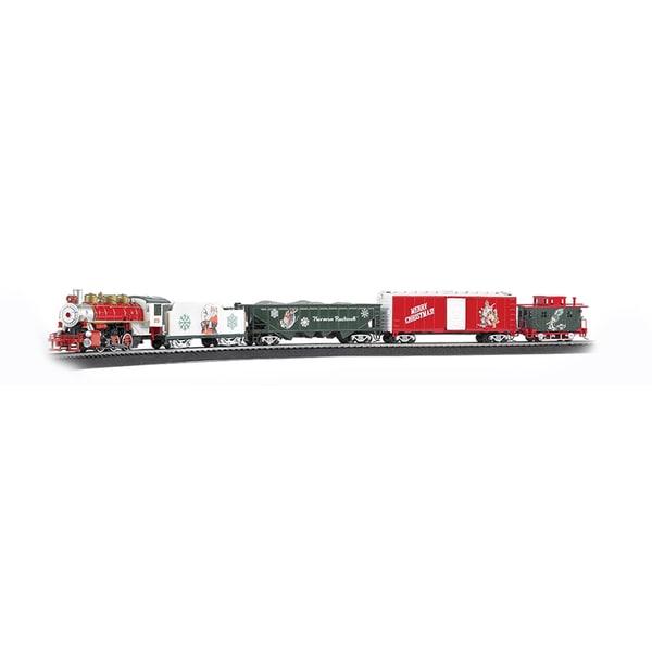 Bachmann Trains A Norman Rockwell Christmas Train - HO Scale Ready To Run Electric Train Set