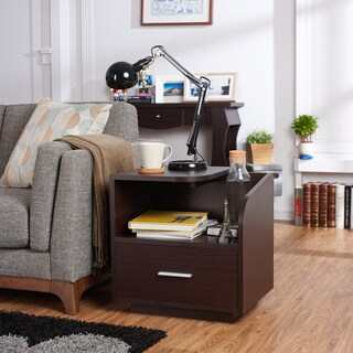 Talisman 1 Drawer End Table 12010408 Overstock Com