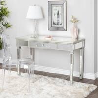 Abbyson Omni Glam Mirrored Desk
