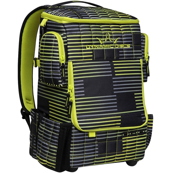Dynamic Discs Ranger Backpack Stoke Chartreuse Disc Golf Bag 17685116 Overstock Com Shopping