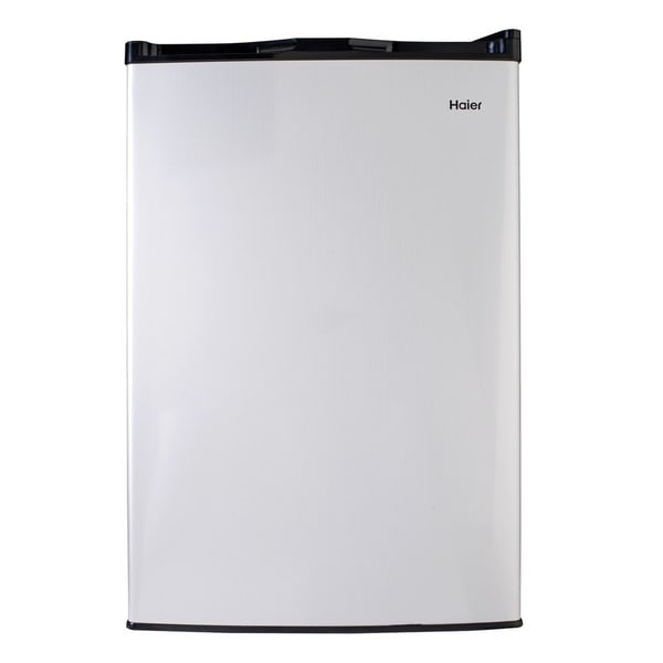 Haier 45 Cu Ft Compact Refrigerator With Halfwidth Freezer Compartment image