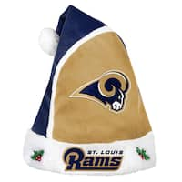 Forever Collectibles St. Louis Rams 2015 NFL Polyester Santa Hat