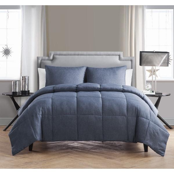 Vcny Garrison Chambray 3 Piece Comforter Set 17691928