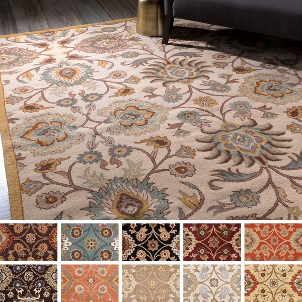 Hand Tufted Patchway Wool Rug 2 X 3 17701879